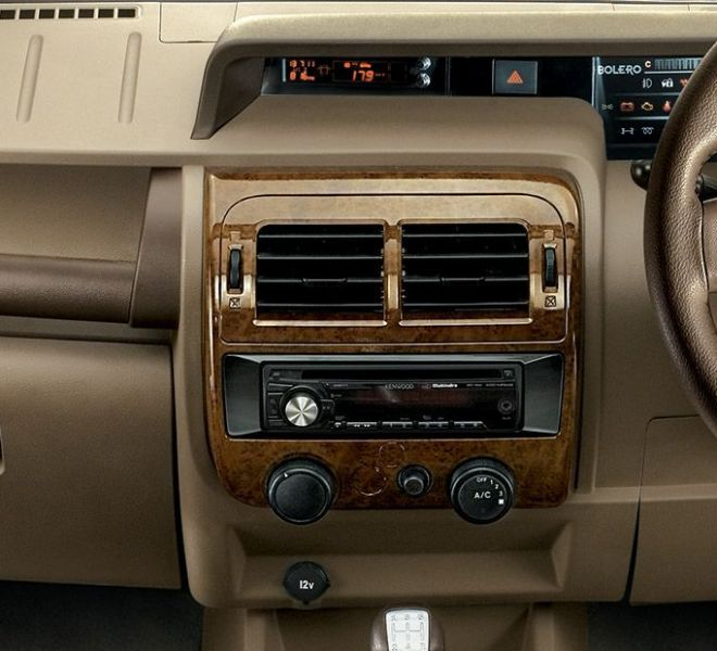 Automotive Mahindra Bolero Interior-2