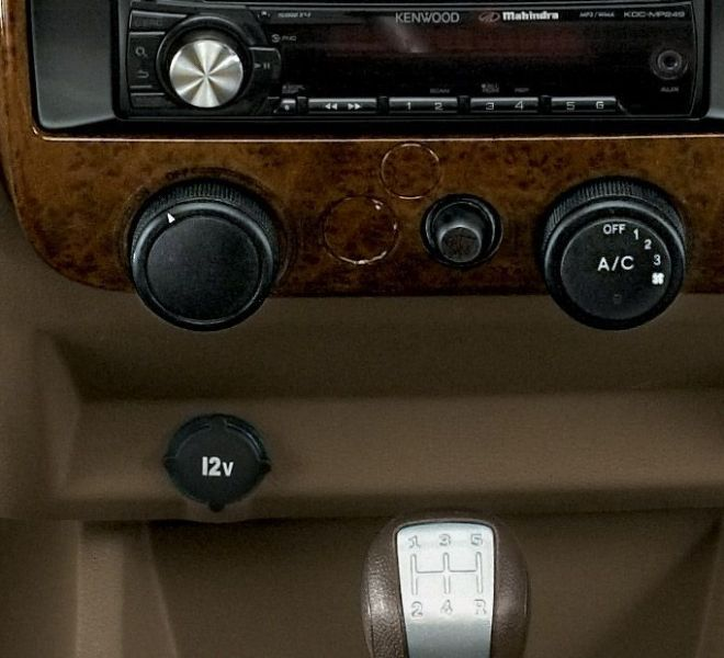 Automotive Mahindra Bolero Interior-4