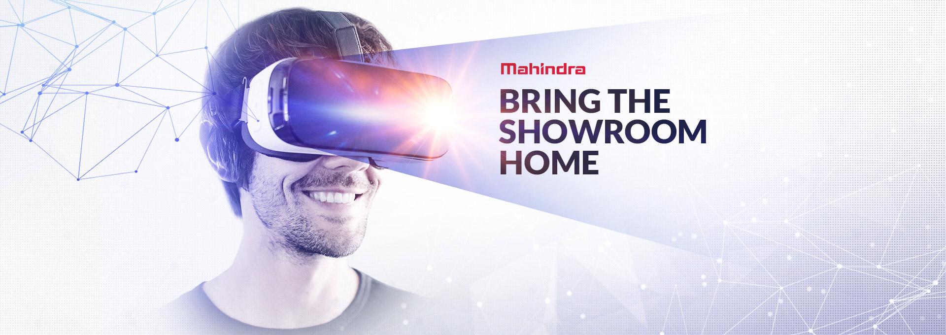 Automotive Mahindra Bring Showroom Home