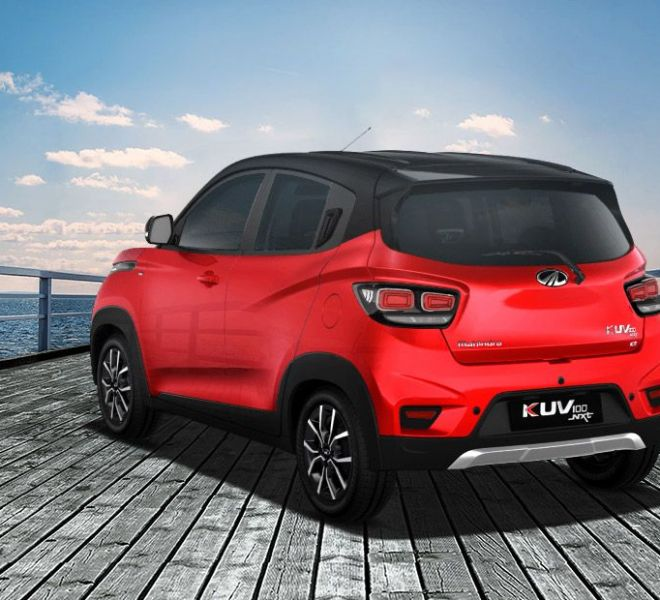 Automotive Mahindra KUV 100 NXT Exterior-4