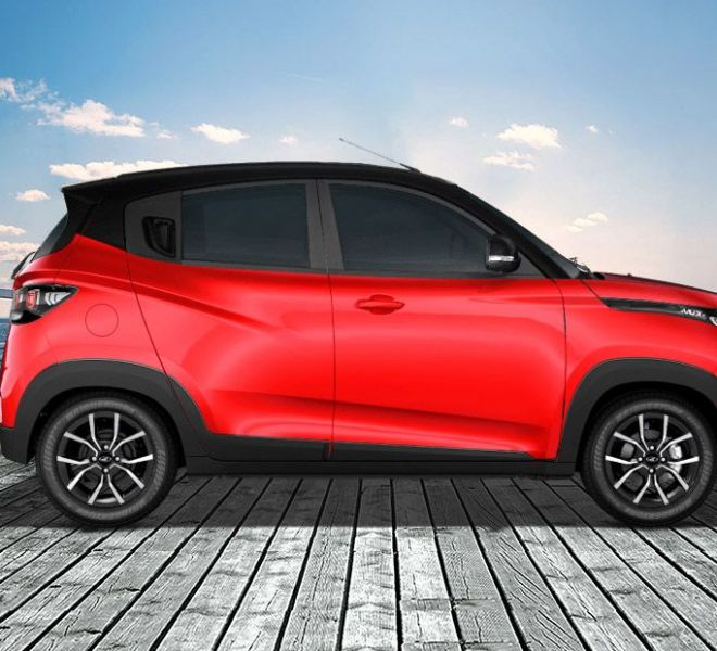 Automotive Mahindra KUV 100 NXT Exterior-7