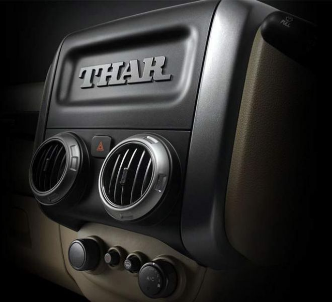 Automotive Mahindra Thar Interior-4