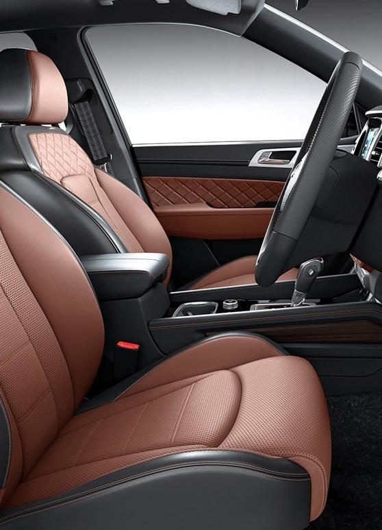 Mahindra Car Inside